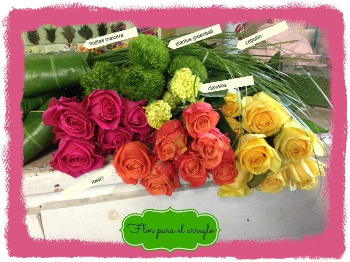 Flores que utilizamos