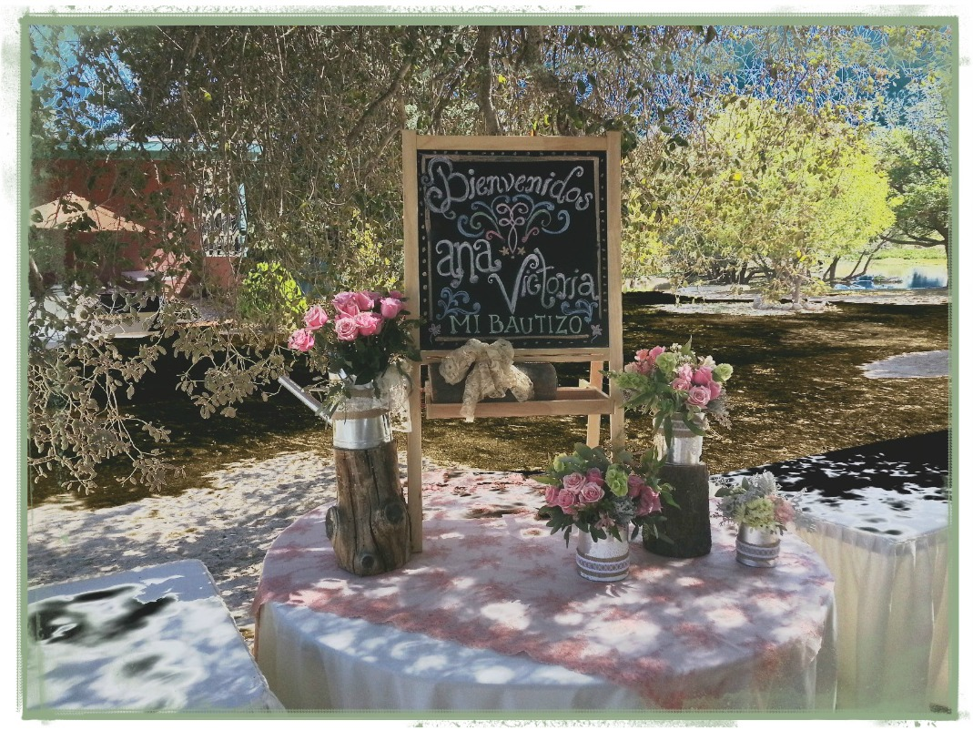 Centros de mesa en frascos estilo vintage para bautizo ? Ana Galena