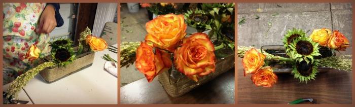 Acomodamos las rosas