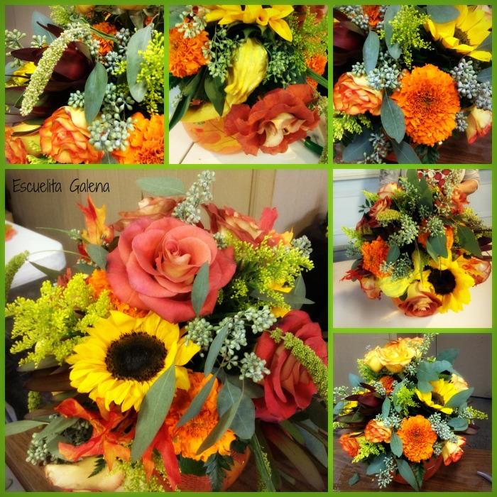 Arreglo floral de otoño