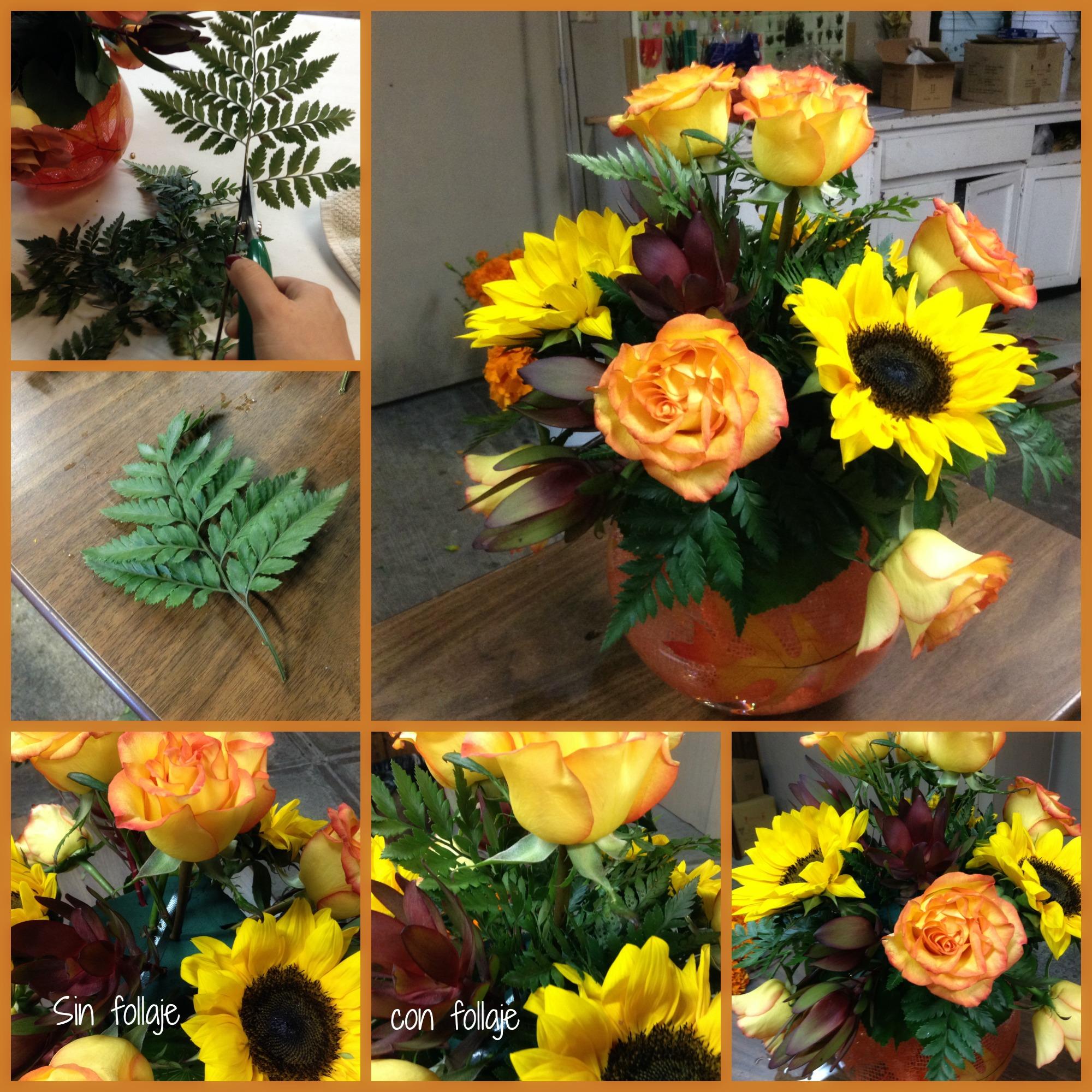 Como Hacer Un Arreglo De Flores De Otoño En Pecera Redonda