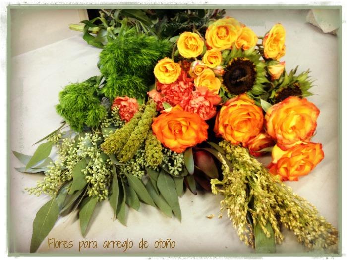 Flores para arreglo