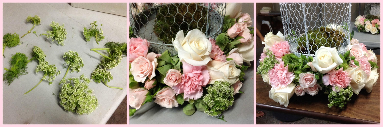 Jaula con flores ana galena - Hacer un centro de flores ...
