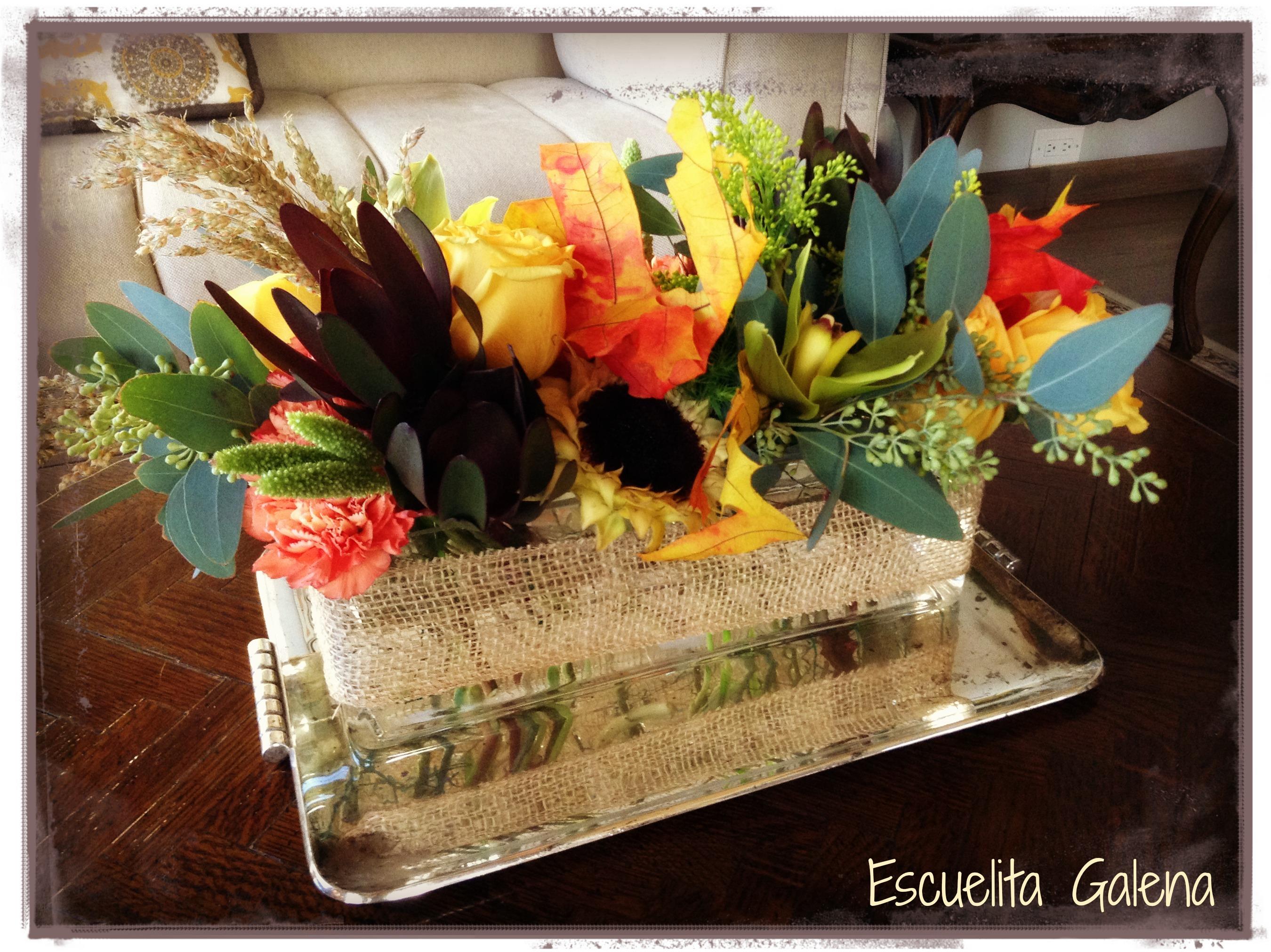Decorando Con Flores En Otoño Ana Galena