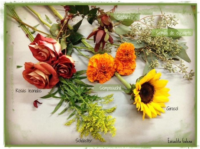 Flor para arreglo de otonõ