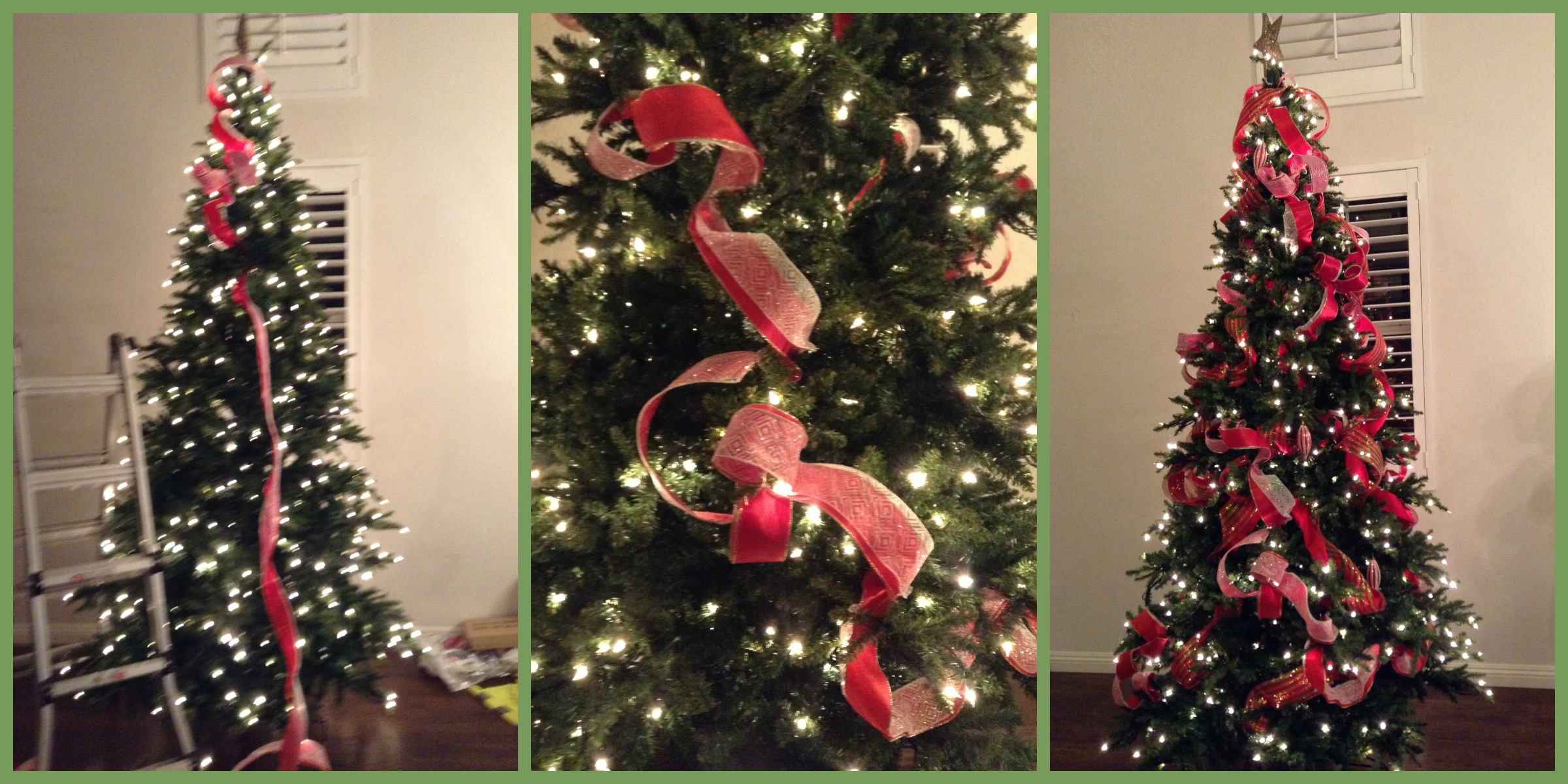 Para poner los listones al rbol de navidad ana galena - Como poner el arbol de navidad ...