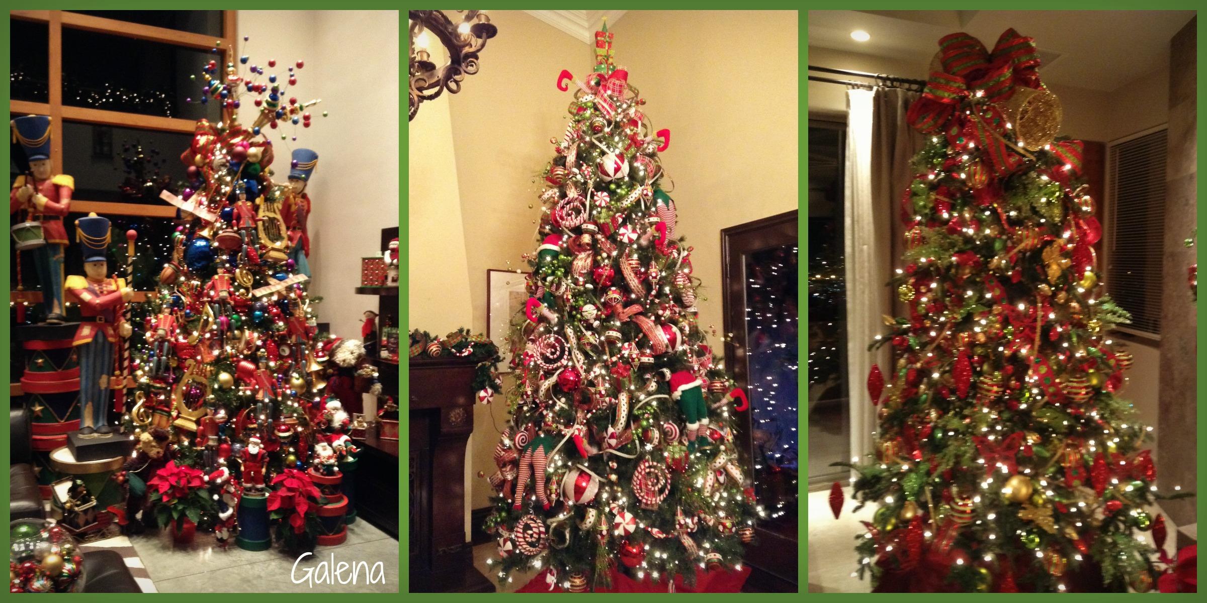Para poner los listones al rbol de navidad ana galena for Cuando se pone el arbol de navidad