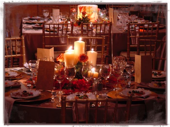El centro de mesa