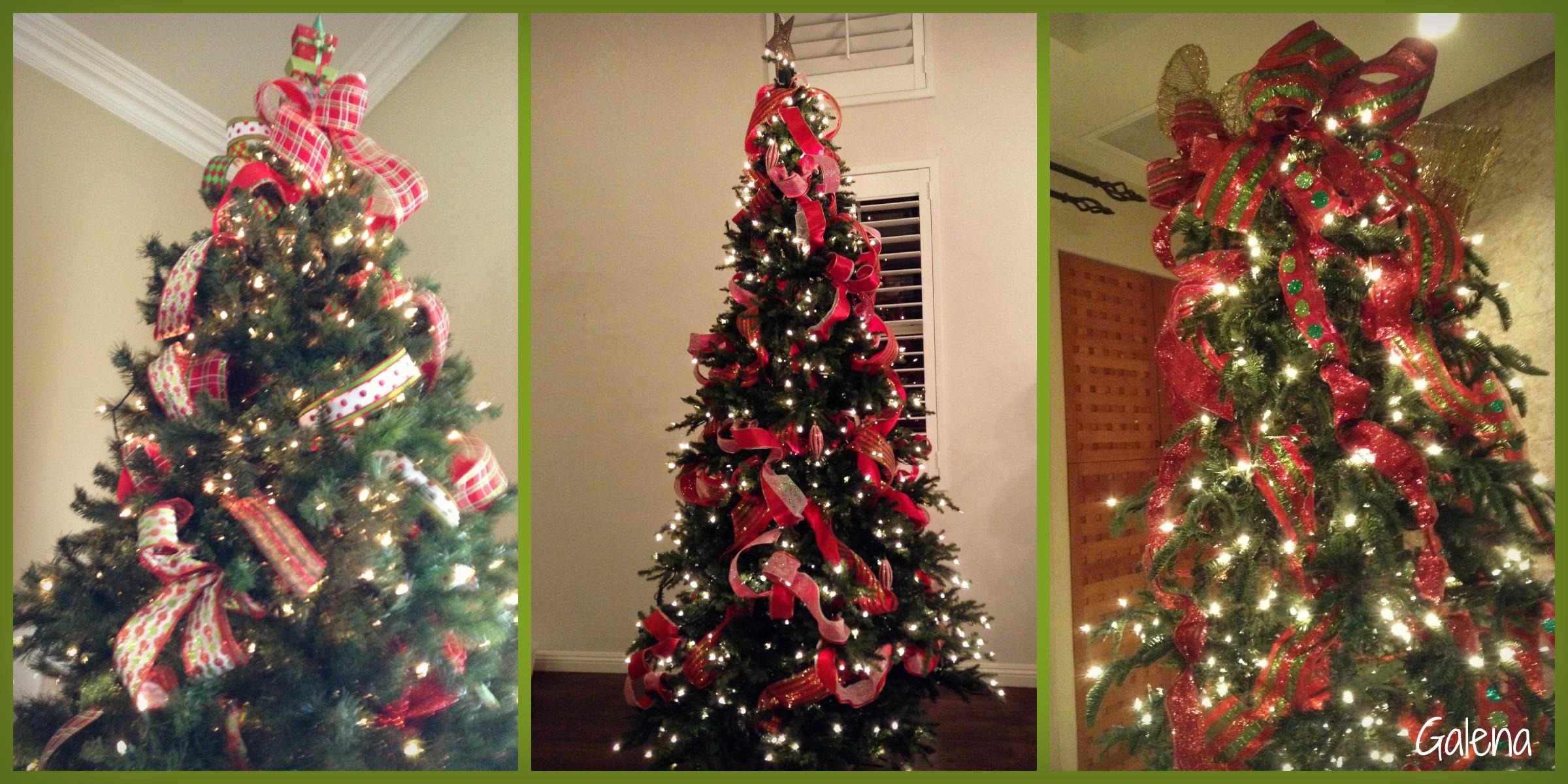 Para Poner Los Listones Al Arbol De Navidad Ana Galena - Fotos-arboles-de-navidad-decorados