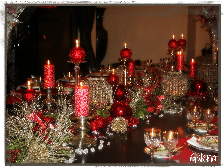 La cena navide a escuelita de flores galena for Detalles de decoracion
