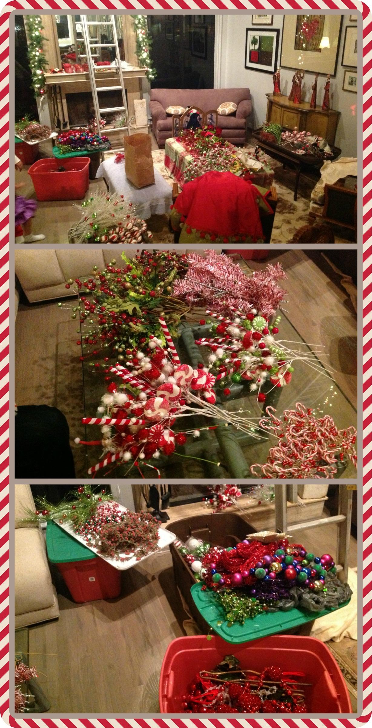 Decoraci n navide a prepar ndonos para recibir la - Decoracion navidena 2013 ...