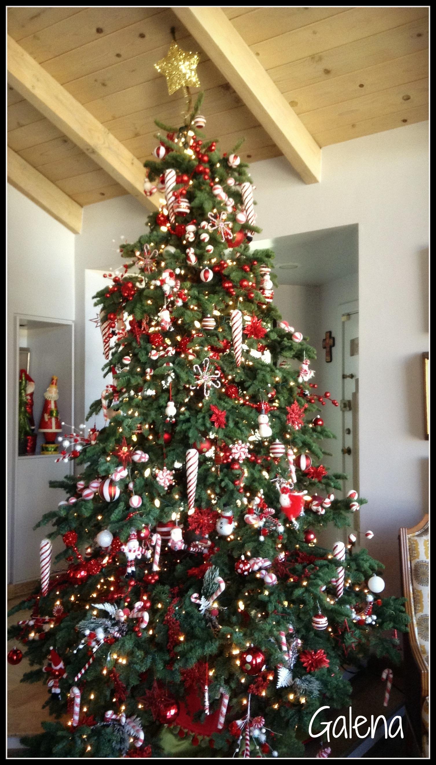 Ideas para decorar el rbol de navidad mi rbol en el - Ideas para decorar estrellas de navidad ...