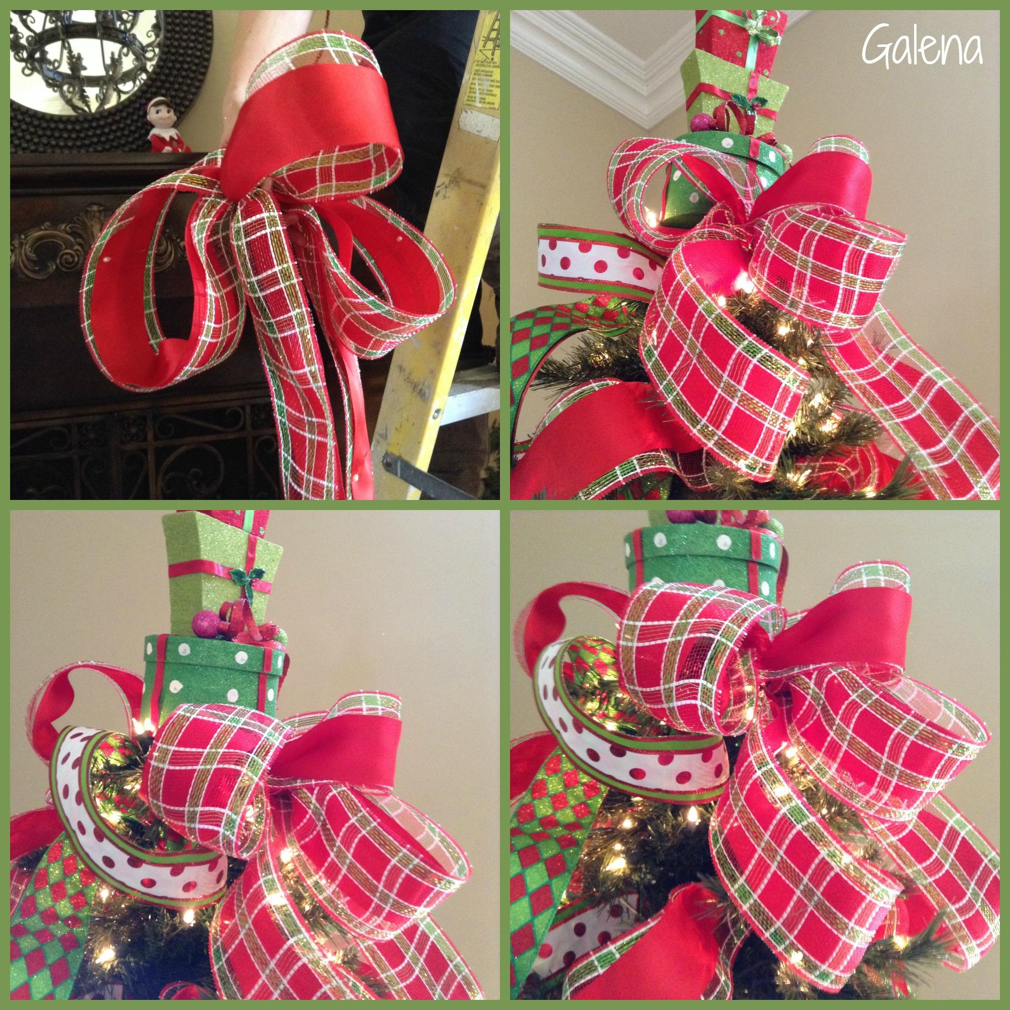 Para poner los listones al rbol de navidad escuelita de - Los adornos navidenos ...