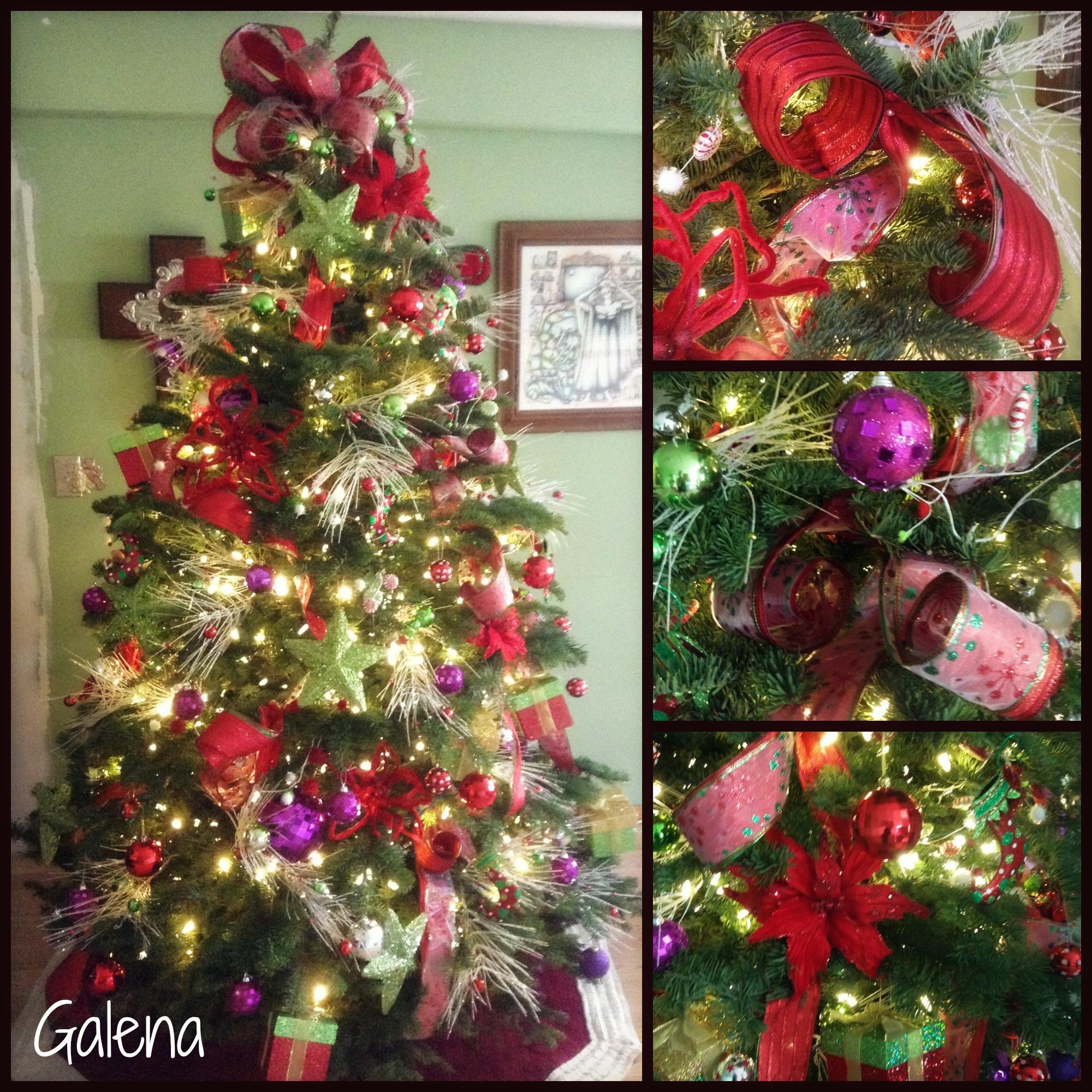 Ideas para decorar el rbol de navidad escuelita de for Ideas para decorar el arbol de navidad