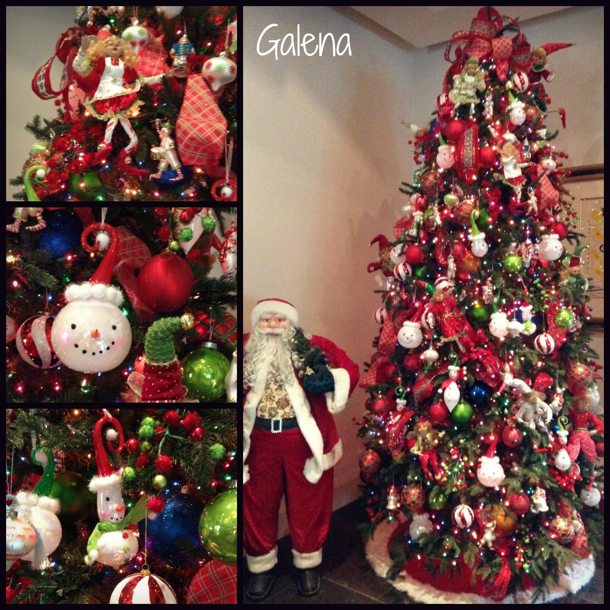 Ideas para decorar el rbol de navidad ana galena - Nieve para arbol de navidad ...