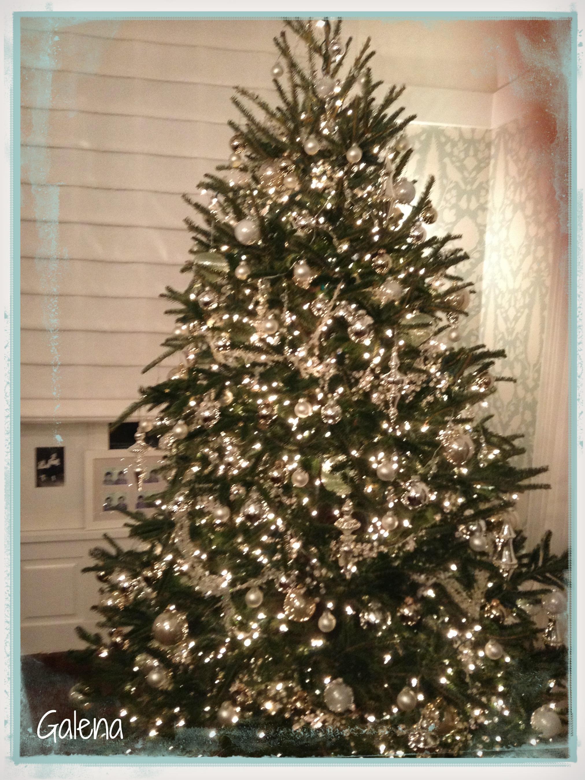 Ideas para decorar el rbol de navidad ana galena - Arboles navidad decorados ...