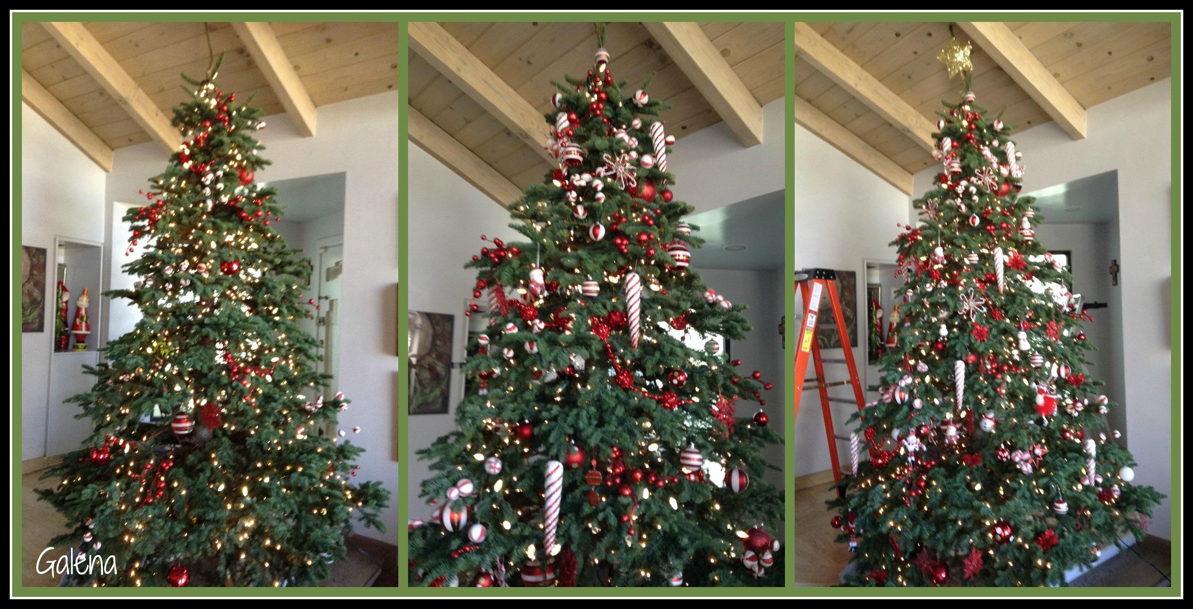 Ideas para decorar el rbol de Navidad Mi rbol en el 2014 Ana