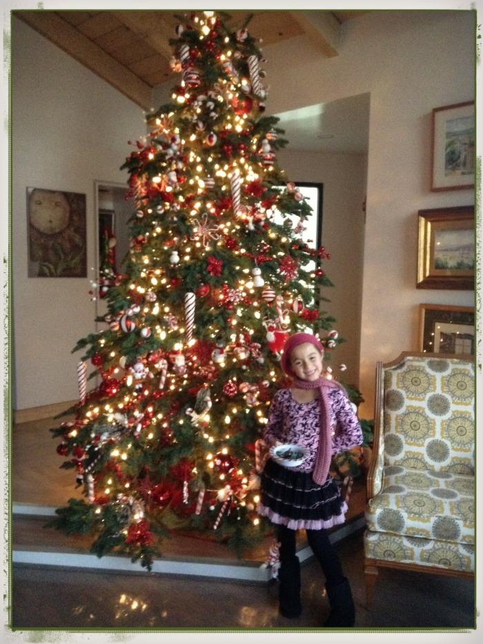 Juliana y el arbol de navidad