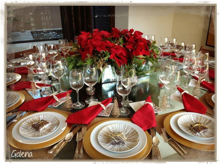 mesa para navidad