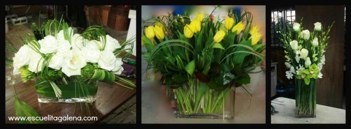arreglos florales modernos y elegantes