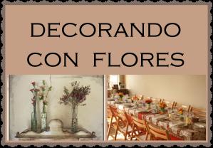 decorando con flores escuelita galena