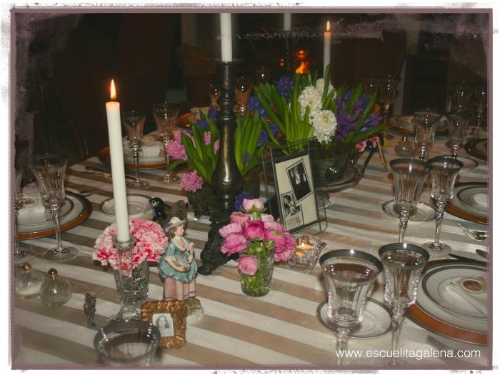 jacintos y la mesa terminada