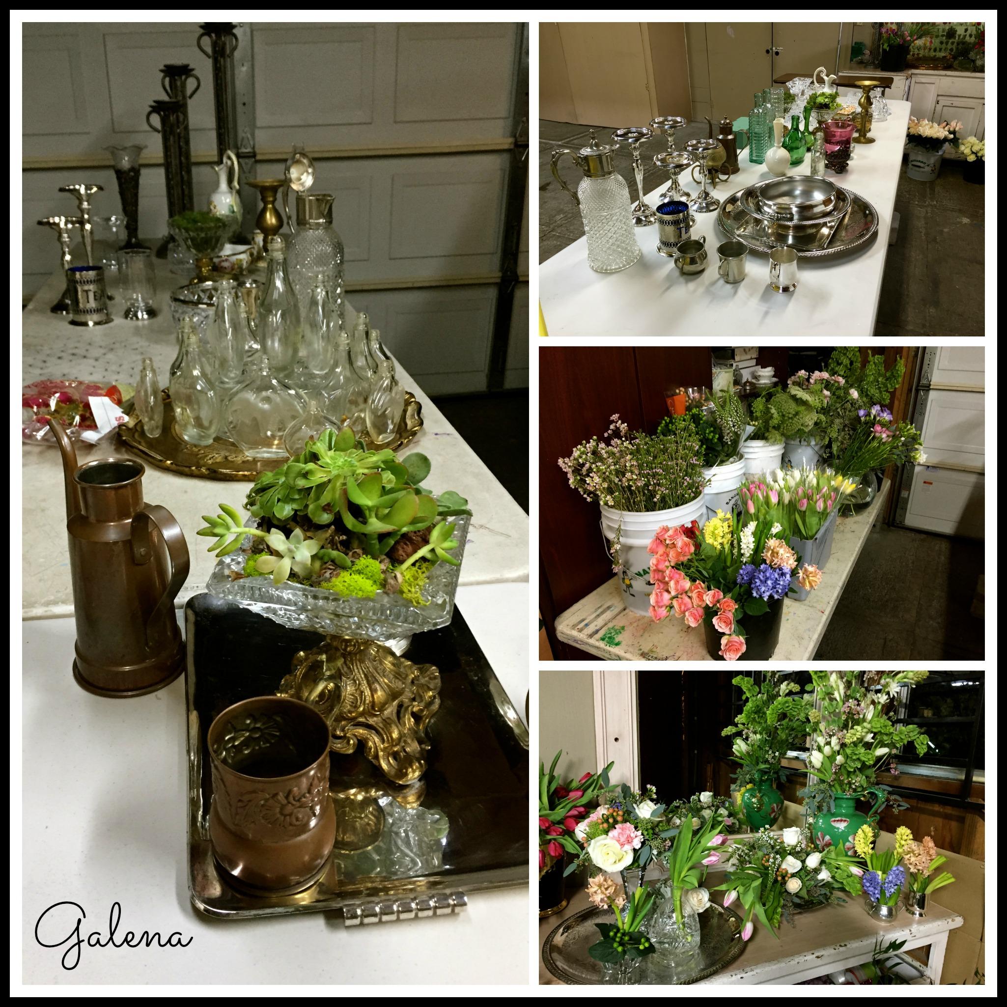 Centros de mesa fiesta de cumplea os ana galena for Mesas de cafeteria