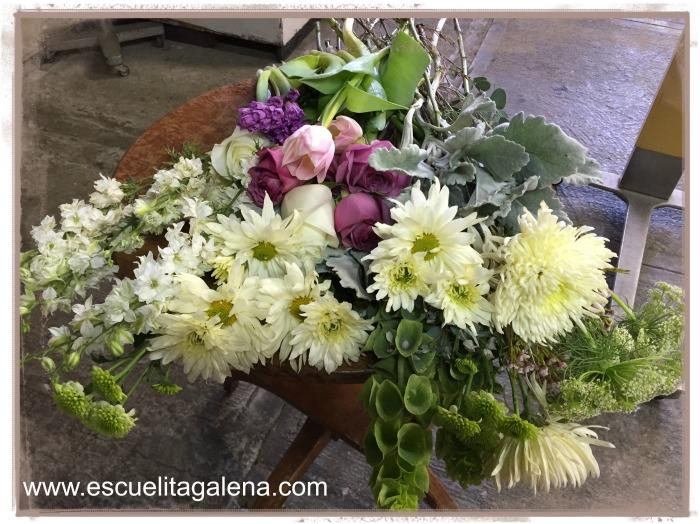 flores para arreglos vintage