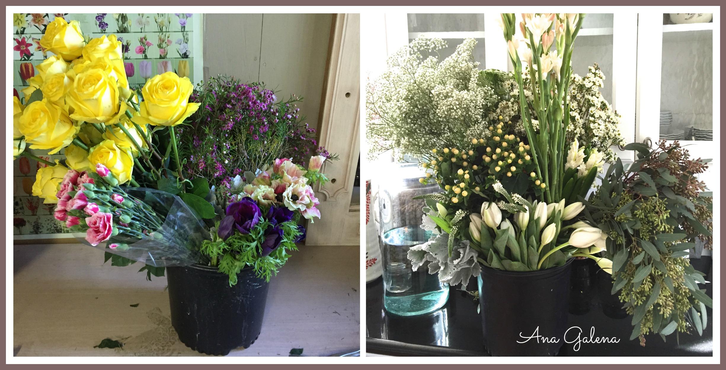 Consejos para decorar con flores naturales escuelita de for Como poner plantas en la pared