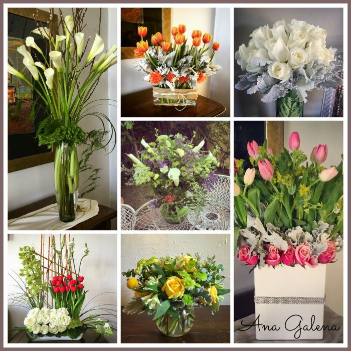diseñando con flores