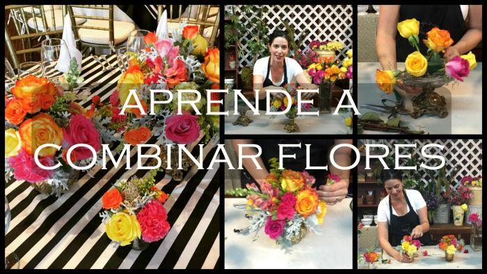 aprende a combinar flores video en youtube