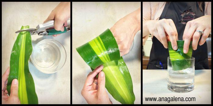 como hacer arreglos de flores cilindro con hoja envuelta